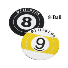 Novelty Items Eight Ball Coaster
