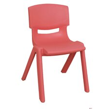 "16"" Polypropylene Classroom Stackable Chair"