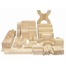 170 Piece Hardwood Building Block Set