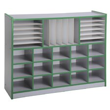 Multi-Section Laminate Storage Unit