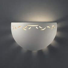 Sun Dagger Half-Circle Pocket 1 Light Wall Sconce
