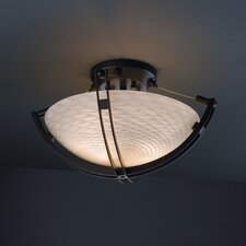 Crossbar Fusion 2 Light Semi Flush Mount