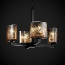Fusion Modular 4 Light Chandelier