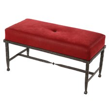 Forest Hill Faux Leather Bench