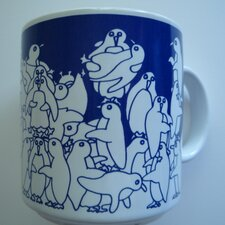 Animates 11 oz. Nitetime Penguins Mug