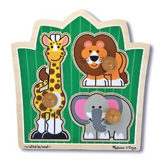 Jungle Friends Wooden Puzzle
