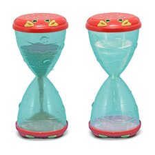 Clicker Crab Hourglass Sifter and Funnel