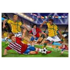 Slide Tackle! 48 Piece Floor Puzzle Set