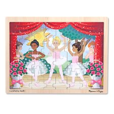 Ballet Performance Wooden 48 Piece Jigsaw Puzzle Set