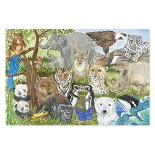Endangered Species 48 Piece Floor Puzzle Set