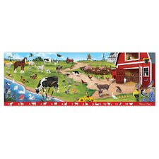 Search and Find Sunny Hill Farm 48 Piece Floor Puzzle Set