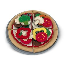 Felt Food Pizza Set