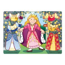 Princess Dress-Up Mix N' Match Peg Puzzle
