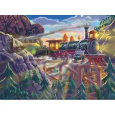 Eagle Canyon Railway Cardboard Jigsaw Puzzle