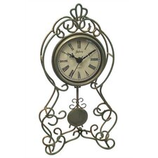 Green & Gold Pendulum Clock