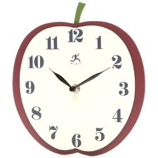 Apple Slice Wall Clock
