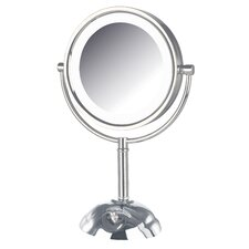 Dual Sided 8x Lighted LED Vanity Mirror