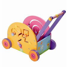 Wooden Push & Play Mouse Wagon