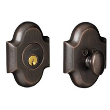 Arched Deadbolt with Single Cylinder