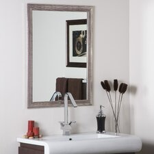 Modern Silverstone Distressed Mirror