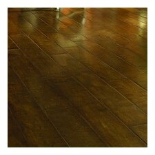 "Crossfire 5"" Handscraped Engineered Maple Flooring in Afterglow"