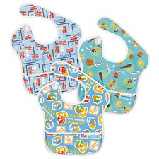 SuperBib Boy's 3 Pack