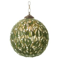 Mistletoe 1 Light Ball Globe Pendant