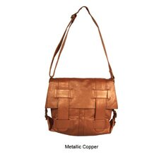 Mimi in Memphis Regina Large Cross-Hatch Shoulder Bag