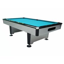 Silver Knight 8' Drop Pocket Pool Table