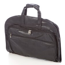 Koskin Leather Carry-On Garment Bag in Black