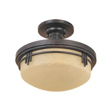 Mission Ridge Semi Flush Mount