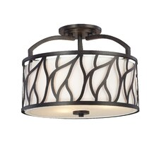 Modesto 3 Light Semi-Flush Mount