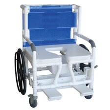 Bariatric Wide Self Propelled Transport Chair