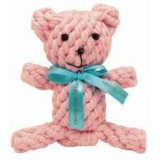 Jackie the Bear Rope Dog Toy