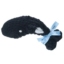 Wilamena the Whale Rope Dog Toy