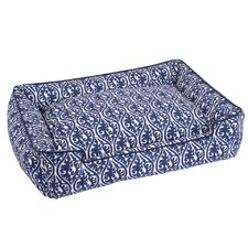 Waverlee Lounge Dog Bed in Royal Blue