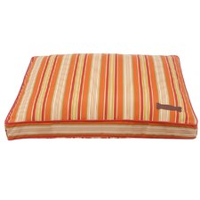 Mandarine Rectangular Pillow Dog Bed