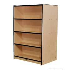 "60"" Double-Sided Bookcase"