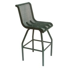 "30"" H Food Court Chair with Diamond Pattern"