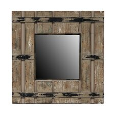 Square Reclaimed Mirror