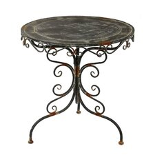 Iron Scroll Dining Table