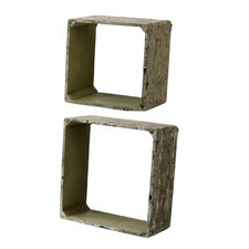 Wall Cube (Set of 2)