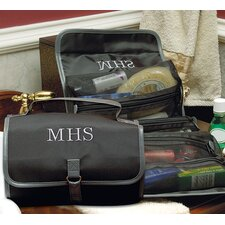 Personalized Men's Microfiber Toiletry Bag