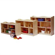 Scalloped Mobile Toddler Storage Unit