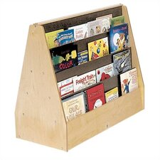 Double-Sided Book Display Unit