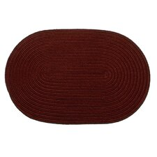 Solid Burgundy Rug