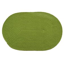 Solid Key Lime Rug