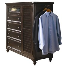 Steel Magnolia 4 Drawer Gentleman's Chest