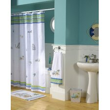 Ocean Surf Polyester Shower Curtain