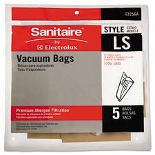 Upright Vacuum Cleaner Replacement Bag (5 Pack)